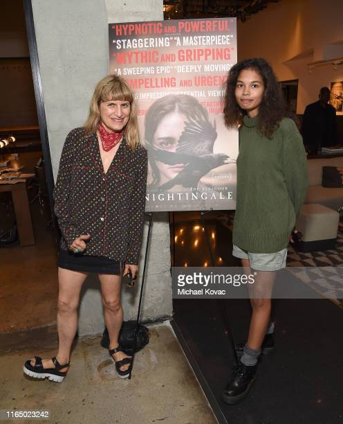 Catherine Hardwicke and Helena Howard attend the Los Angeles Special Screening of The Nightingale at NeueHouse Los Angeles on July 29 2019 in...