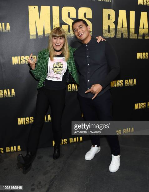 Catherine Hardwicke and Ismael Cruz Cordova attend the Sony Pictures Entertainment NALIP Presents LatinX Representation In Entertainment panel and...