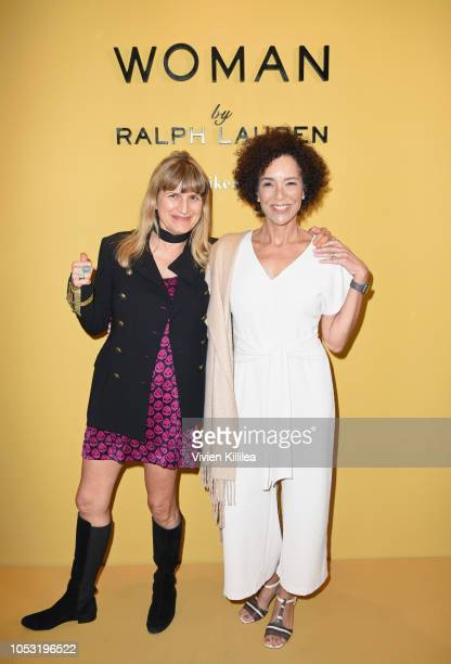 Catherine Hardwicke and Stephanie Allain attend Ralph Lauren Fragrances x Women In Film Sisterhood Of Leaders Event on October 24, 2018 in Beverly...