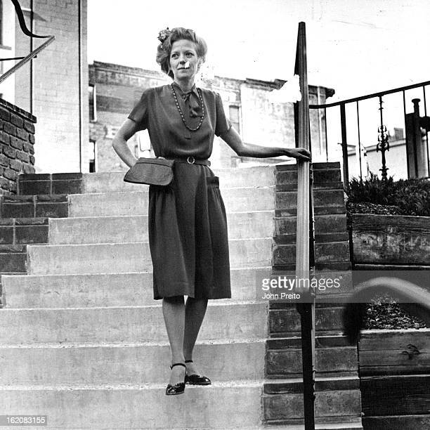 DEC 18 1981 Catherine Harvey showed '40s rust crepe dress with '80s puff sleeve $20 left below Tina Hall's redblackwhite linenlike '50s topper was...
