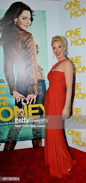 Catherine Heigl arrives at One For The Money movie screening held at the Lincoln Square Theater