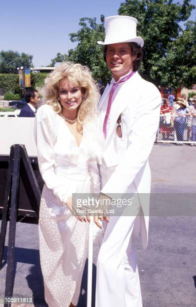 Catherine Hickland and David Hasselhoff during David Hasselhoff Catherine Hickland Wedding at Wompoppers Restaurant in Universal City California...