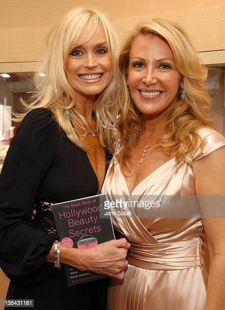 Catherine Hickland and Kym Douglas during The Black Book of Hollywood Beauty Secrets Debut Party Hosted by Kelly and Martin Katz at Martin Katz Ltd...