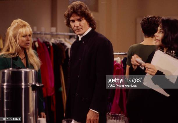 Catherine Hickland Jean Le Clerc Lisa Peluso appearing on the Walt Disney Television via Getty Images soap opera 'Loving'