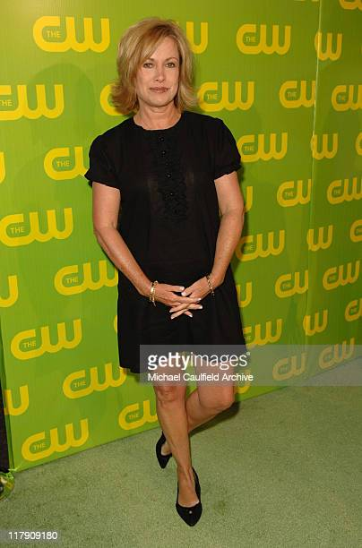 Catherine Hicks during The CW Launch Party Green Carpet at WB Main Lot in Burbank California United States