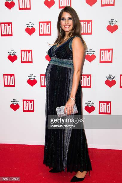 Catherine Hummels attends the Ein Herz Fuer Kinder gala on at Studio Berlin Adlershof on December 9 2017 in Berlin Germany