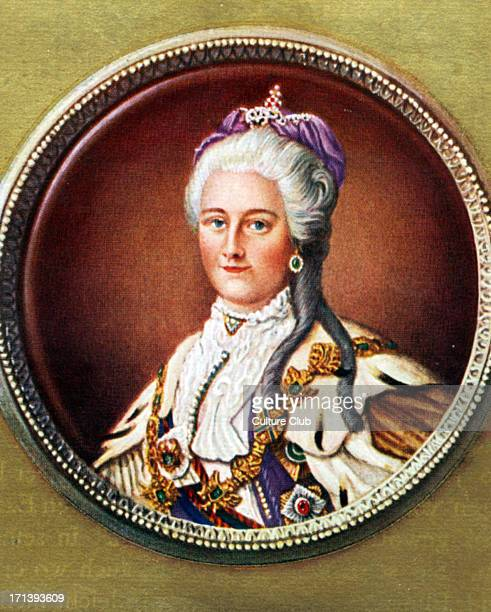 Catherine II Portrait of the Russian Empress 2 May 1729 17 November 1796
