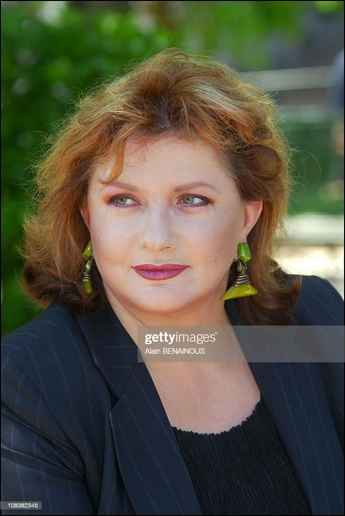 Catherine Jacob At The Forty-Second Film Festival Of Monaco in Monaco on July 05, 2002. : Photo d'actualité