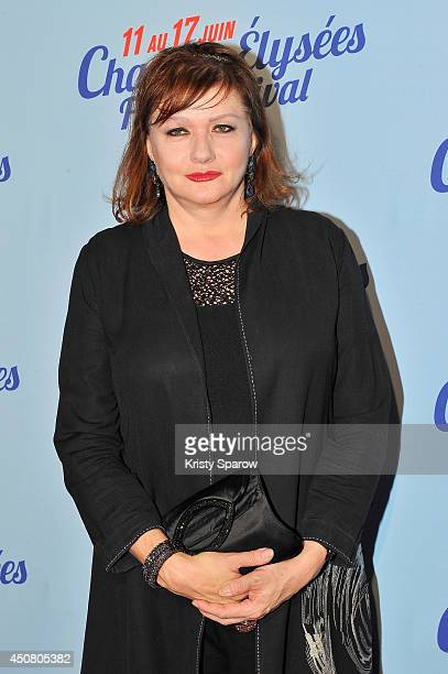 Catherine Jacob attends Day 7 of the Champs Elysees Film Festival on June 17 2014 in Paris France