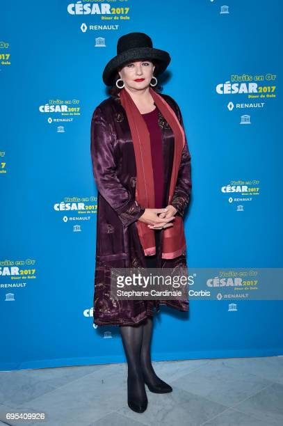 Catherine Jacob attends 'Les Nuits en Or 2017' Dinner Gala at Unesco on June 12 2017 in Paris France