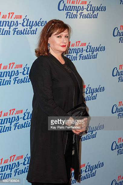 Catherine Jacob attends the 'L'Ex de ma Vie' Paris Premiere during Day 7 of the Champs Elysees Film Festival on June 17 2014 in Paris France