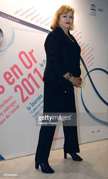 Catherine Jacob attends the 'Panorama' Closing Dinner Hostedat UNESCO on July 6 2011 in Paris France