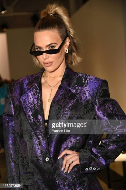 Catherine Joy Perry also known as CJ Perry attends the Laurence Chico front row during New York Fashion Week The Shows on September 05 2019 in New...