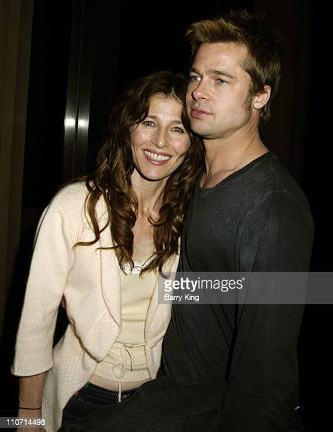 """Catherine Keener and Brad Pitt during """"The Ballad of Jack and Rose"""" Discussion and Screening at LACMA in Los Angeles, CA., United States."""
