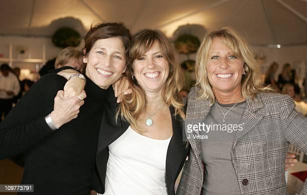 Catherine Keener, Andrea Pett Joseph and Cynthia Pett Dante
