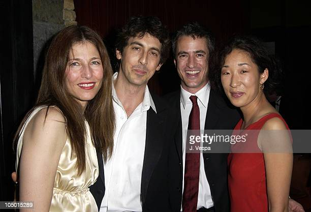 Catherine Keener director Alexander Payne Dermot Mulroney and Sandra Oh