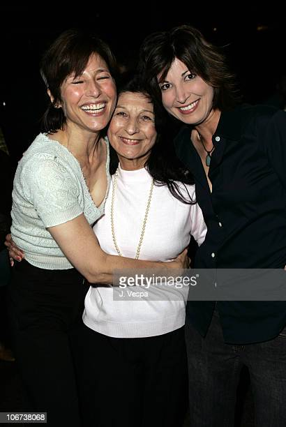 Catherine Keener Evelyn Candy Keener and Elizabeth Keener attend the Palisades Pictures screening of Going UpRiver The Long War of John Kerry to kick...