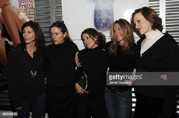 Catherine Keener Frances McDormand Nicole Holofcener director of Friends with Money Jennifer Aniston and Joan Cusack