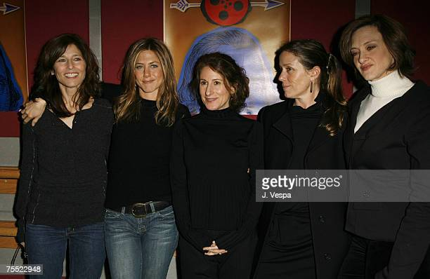 Catherine Keener Jennifer Aniston Nicole Holofcener Frances McDormand and Joan Cusack at the Eccles Theatre in Park City Utah