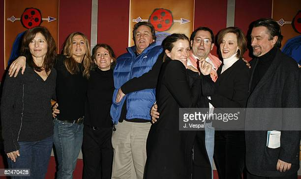 Catherine Keener Jennifer Aniston Nicole Holofcener Tom Bernard Frances McDormand Michael Barker coPresident of Sony Pictures Classics and Joan Cusack