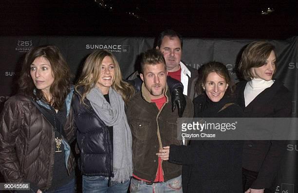 Catherine Keener Jennifer Aniston Scott Caan Bob Stephenson director Nicole Holofcener and Joan Cusack