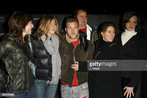 Catherine Keener Jennifer Aniston Scott Caan Bob Stephenson Nicole Holofcener director and Joan Cusack