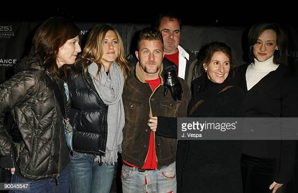 Catherine Keener Jennifer Aniston Scott Caan Bob Stephenson Nicole Holofcener director and Joan Cusack with guest