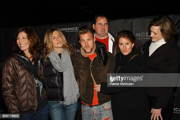 Catherine Keener Jennifer Aniston Scott Caan Nicole Holofcener and Joan Cusack attend Friends with Money Sundance opening Night Film at Eccles...