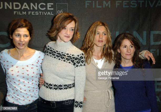 Catherine Keener Joan Cusack Jennifer Aniston and Nicole Holofcener director