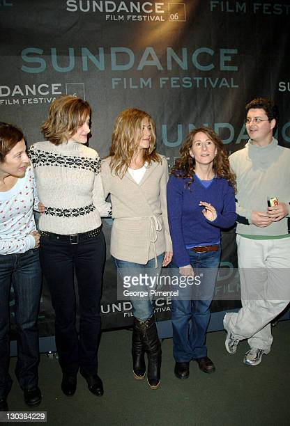 Catherine Keener Joan Cusack Jennifer Aniston Nicole Holofcener director and Michael Barker