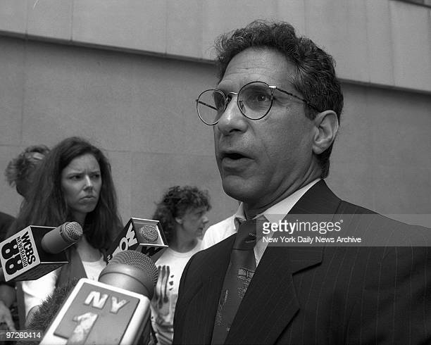 Catherine Kitty Genovese Hearing at Brooklyn Federal Court attorney Barry Rhodes speaking to press