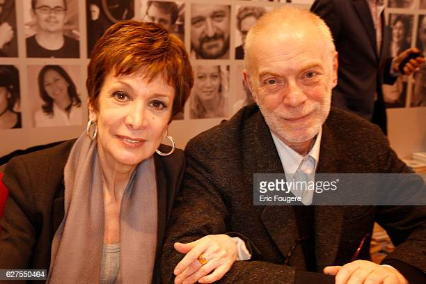 Catherine Laborde and Thomas Stern photographed in Paris