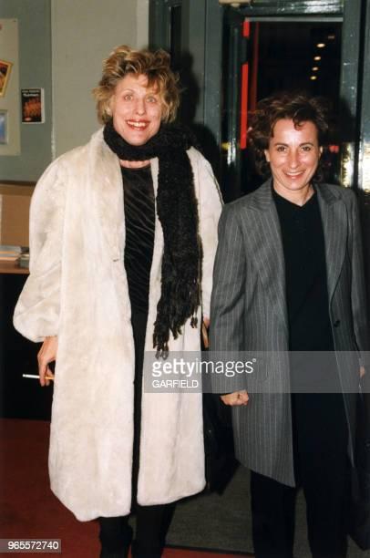 Catherine Lachens et MariePaule Belle le 23 février 1999 à Paris France