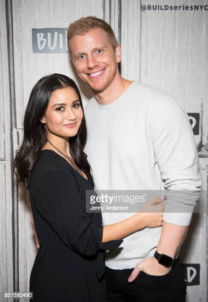 Catherine Lowe and Sean Lowe attend AOL Build Series at Build Studio on October 4 2017 in New York City