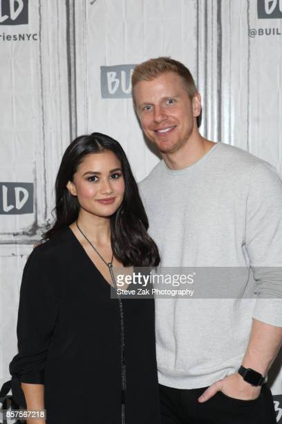 Catherine Lowe and Sean Lowe attend Build Series to discuss Worst Cooks In America at Build Studio on October 4 2017 in New York City