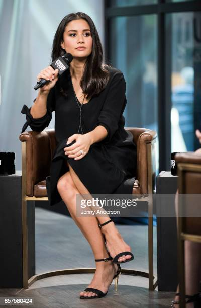 Catherine Lowe attends AOL Build Series at Build Studio on October 4 2017 in New York City