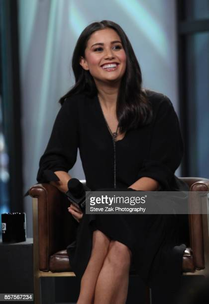 Catherine Lowe attends Build Series to discuss Worst Cooks In America at Build Studio on October 4 2017 in New York City