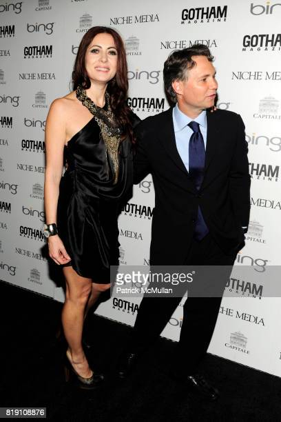 Catherine Malandrino and Jason Binn attend ALICIA KEYS Hosts GOTHAM MAGAZINES Annual Gala Presented by BING at Capitale on March 15 2010 in New York...