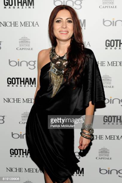 Catherine Malandrino attends ALICIA KEYS Hosts GOTHAM MAGAZINES Annual Gala Presented by BING at Capitale on March 15, 2010 in New York City.