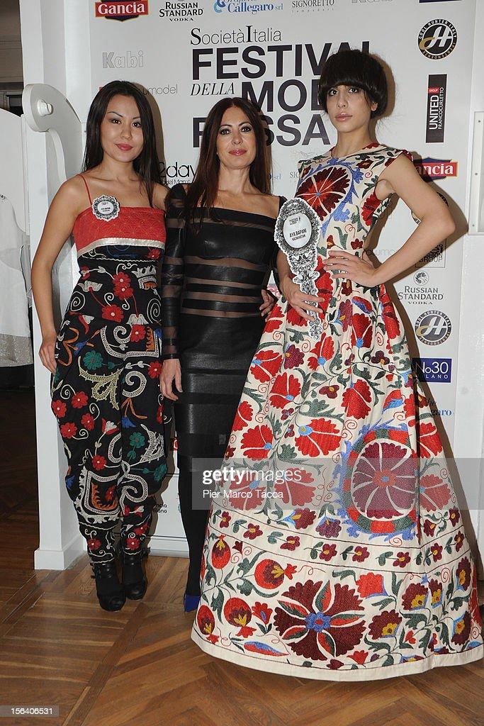 Catherine Malandrino attends Russian Fashion Festival on November 14, 2012 in Milan, Italy.