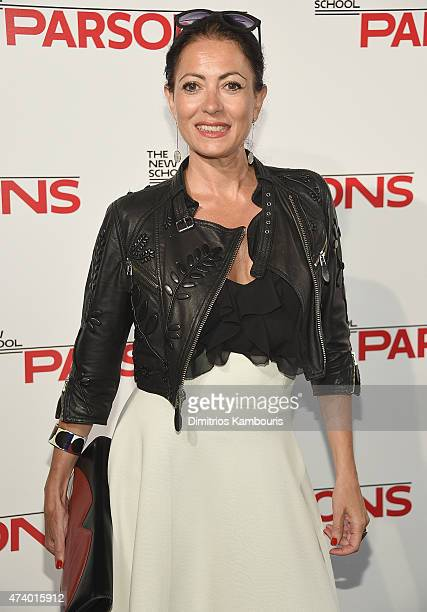 Catherine Malandrino attends the 67th Annual Parsons Fashion Benefit at River Pavillion at the Jacob Javitz Center on May 19 2015 in New York City