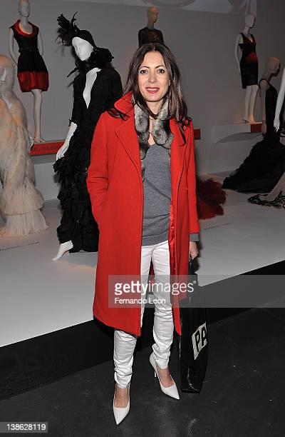 Catherine Malandrino attends the exhibition opening night gala for Impact 50 Years of the CFDA at The Fashion Institute of Technology on February 9...