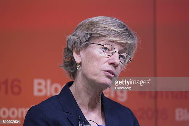 Catherine Mann chief economist at the Organization for Economic Cooperation and Development speaks at the Bloomberg Markets Most Influential Summit...