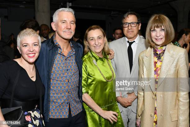Catherine Martin Baz Luhrmann Miuccia Prada David O Russell and Anna Wintour attend the Prada Resort 2019 fashion show on May 4 2018 in New York City
