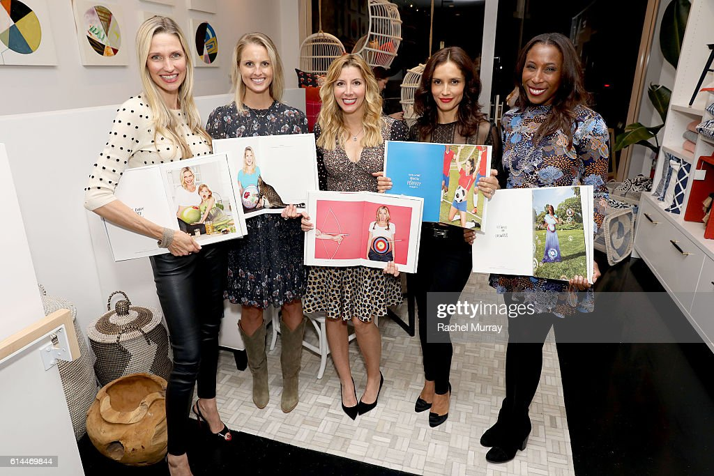 Serena & Lily and Sara Blakely Celebrate the Launch of The Belly Art Project Benefiting Every Mother Counts : News Photo