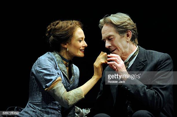 Catherine McCormack and Christopher Ravenscroft perform in Henrik Ibsen's play A Doll's House at the Theatre Royal in Bath