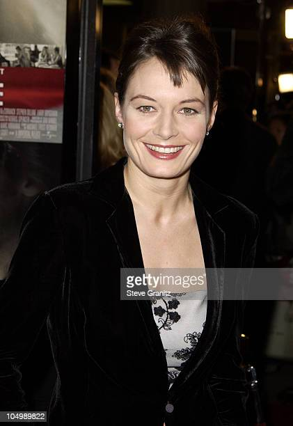 Catherine McCormack during Spy Game Premiere at Mann National Theatre in Westwood California United States