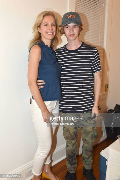 """Catherine McCormick and George Gallagher attend the release of Christophe von Hohenberg's new book """"The White Album of The Hamptons"""" and Bruce..."""