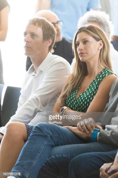 Catherine McDonnell attends a presentation of UNDER THE HOOP a book by her boyfriend San Antonio Spurs' Spanish player Pau Gasol in Madrid on...