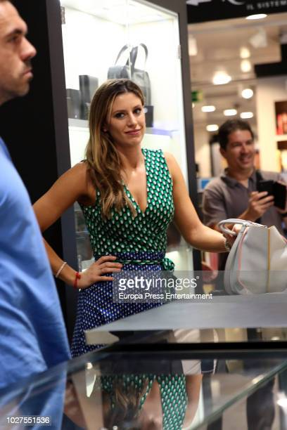 Catherine McDonnell attends the firm exemplary of his boyfriend San Antonio Spurs's player Pau Gasol's new book 'Under the Hoop' on September 5 2018...